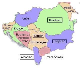 Balkan Länder